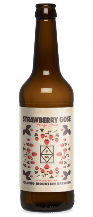 Forage Series #2 Strawberry Gose by Folding Mountain Brewing  in Alberta, Canada