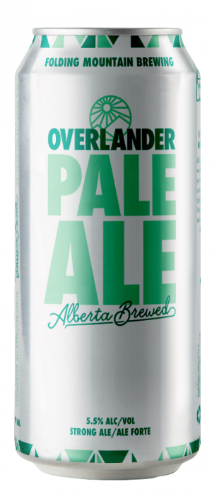 Overlander Pale Ale by Folding Mountain Brewing  in Alberta, Canada
