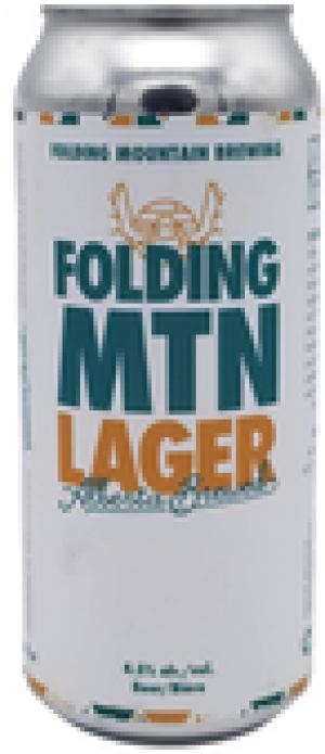 Folding Mountain Lager by Folding Mountain Brewing  in Alberta, Canada