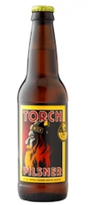 Torch Pilsner by Foothills Brewing in North Carolina, United States