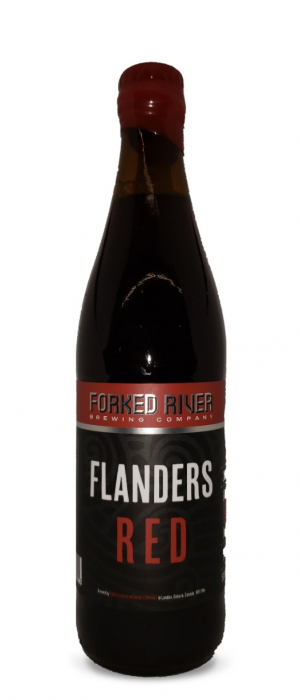 Flanders Red Ale by Forked River Brewing Company in Ontario, Canada