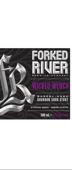Wicked Wench by Forked River Brewing Company in Ontario, Canada