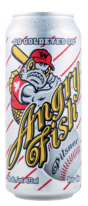 Angry Fish by Fort Garry Brewing in Manitoba, Canada
