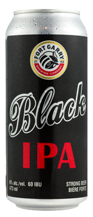 Black IPA by Fort Garry Brewing in Manitoba, Canada
