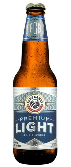 Premium Light by Fort Garry Brewing in Manitoba, Canada
