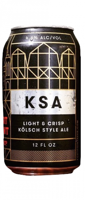 Kolsch Style Ale (KSA) by Fort Point Beer Company in California, United States