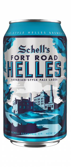 Fort Road Helles by August Schell Brewing Company in Minnesota, United States