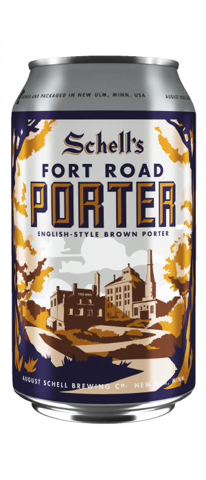Fort Road Porter by August Schell Brewing Company in Minnesota, United States