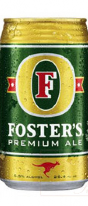 Foster's Premium Ale by Foster's Group in Victoria, Australia