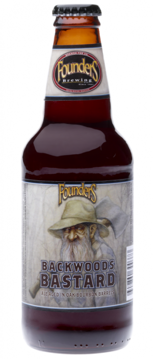 Backwoods Bastard by Founders Brewing Company in Michigan, United States