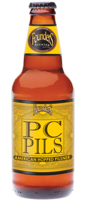 PC Pils by Founders Brewing Company in Michigan, United States