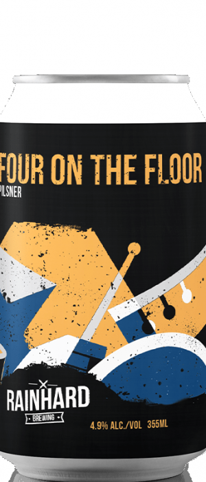 Four On The Floor by Rainhard Brewing Company in Ontario, Canada