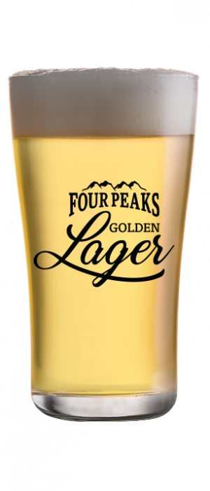 Golden Lager by Four Peaks Brewing Company in Arizona, United States