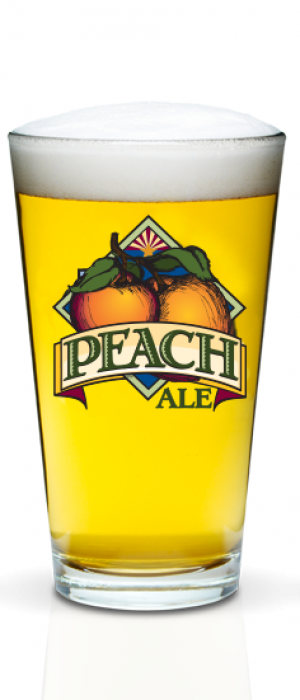 Peach Ale by Four Peaks Brewing Company in Arizona, United States