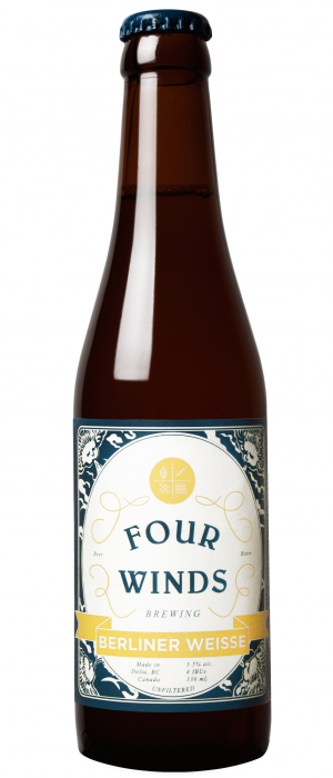 Berliner Weisse by Four Winds Brewing Company in British Columbia, Canada
