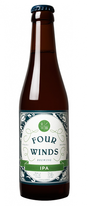 IPA by Four Winds Brewing Company in British Columbia, Canada