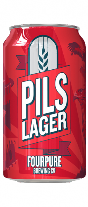Pils Lager by Fourpure Brewing Co. in London - England, United Kingdom