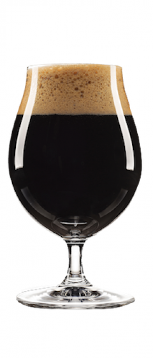 Foynes Irish Coffee Stout by Stone Angel Brewing Co. in Manitoba, Canada