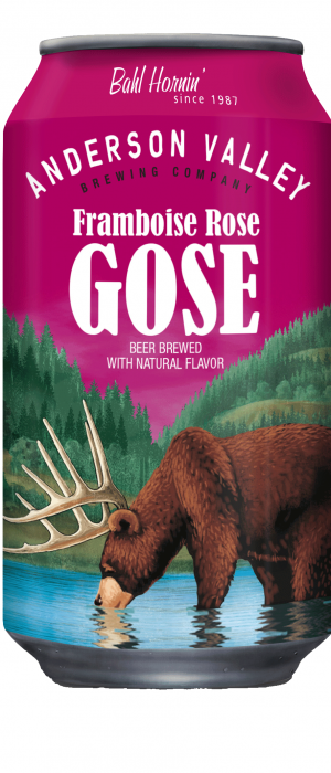 Framboise Rose Gose by Anderson Valley Brewing Company in California, United States