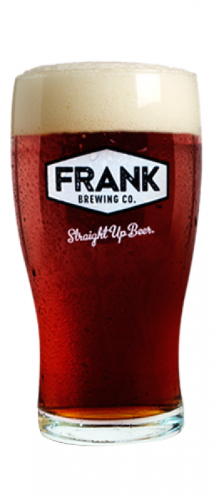 Old Comrade Amber Ale by Frank Brewing Company in Ontario, Canada