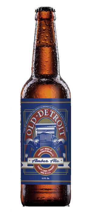 Old Detroit Amber Ale by Frankenmuth Brewery in Michigan, United States