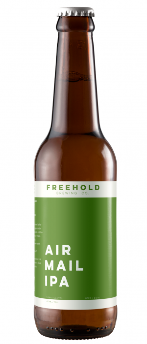 Air Mail IPA by Freehold Brewing Co. in Alberta, Canada