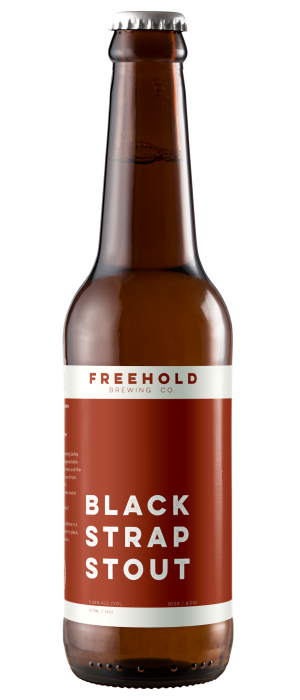 Blackstrap Stout by Freehold Brewing Co. in Alberta, Canada