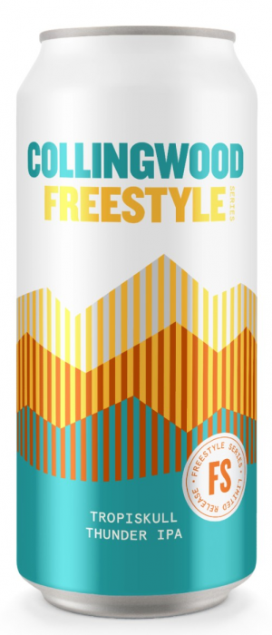 Freestyle Series: Tropiskull Thunder IPA by The Collingwood Brewery in Ontario, Canada