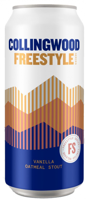 Freestyle Series: Vanilla Oatmeal Stout by The Collingwood Brewery in Ontario, Canada