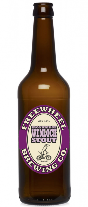 Ironbridge Wenlock Stout by Freewheel Brewing Company in California, United States