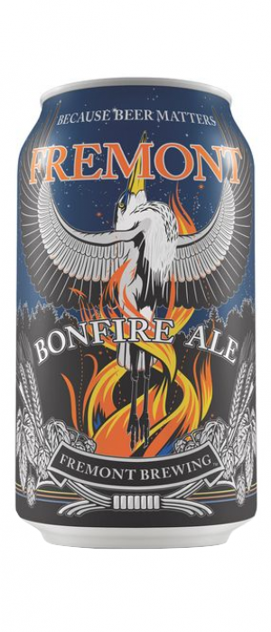 Bonfire Ale by Fremont Brewing in Washington, United States