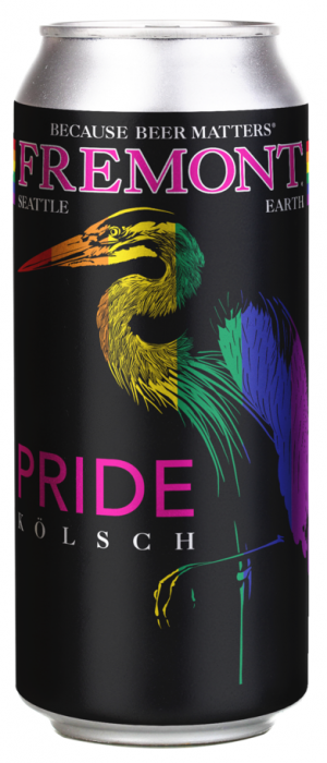 Pride Kölsch by Fremont Brewing in Washington, United States