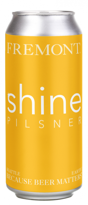 Shine Pilsner by Fremont Brewing in Washington, United States