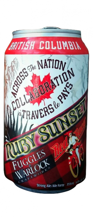 Ruby Sunset by Fuggles & Warlock Craftworks in British Columbia, Canada