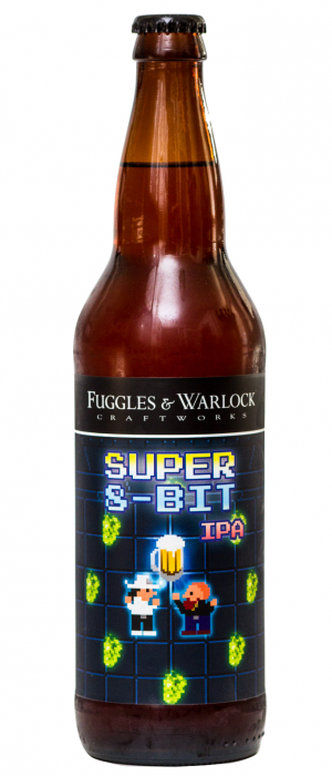 Super 8-bit IPA by Fuggles & Warlock Craftworks in British Columbia, Canada