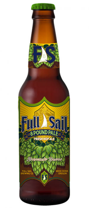 8 Pound Pale by Full Sail Brewing Company in Oregon, United States