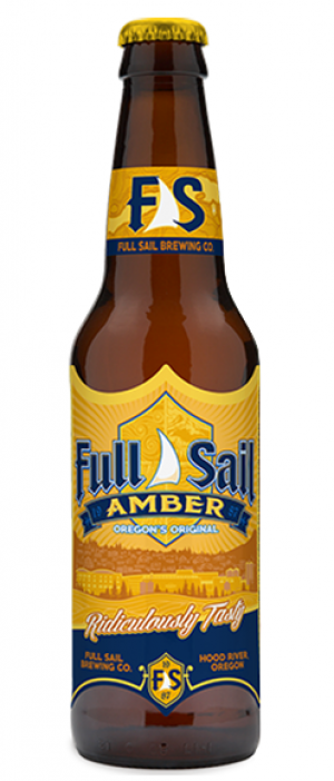 Amber Ale by Full Sail Brewing Company in Oregon, United States