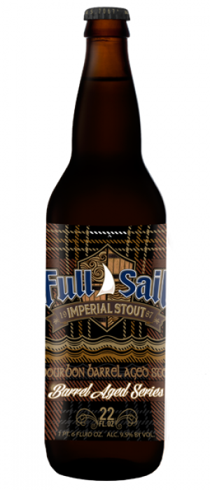 Bourbon Barrel Aged Imperial Stout by Full Sail Brewing Company in Oregon, United States