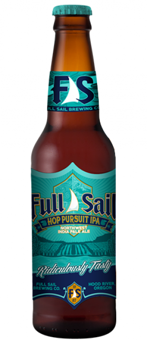 Hop Pursuit IPA by Full Sail Brewing Company in Oregon, United States