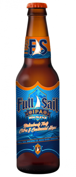 IPA by Full Sail Brewing Company in Oregon, United States
