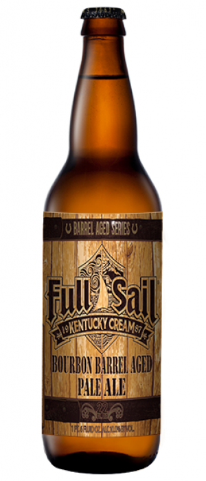Kentucky Cream Barrel Aged Pale Ale by Full Sail Brewing Company in Oregon, United States