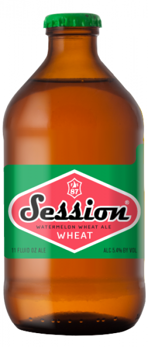 Session Watermelon Wheat by Full Sail Brewing Company in Oregon, United States