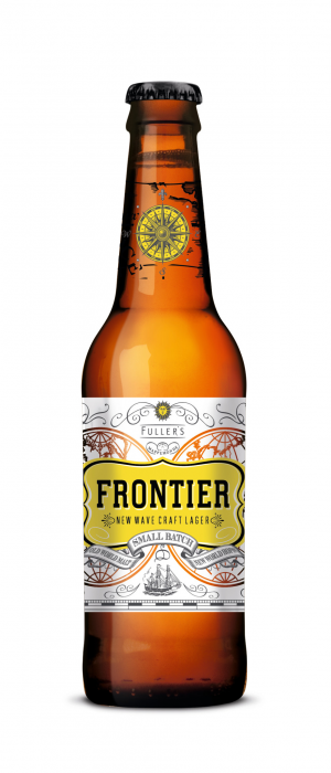 Frontier by Fuller's Brewery in London - England, United Kingdom