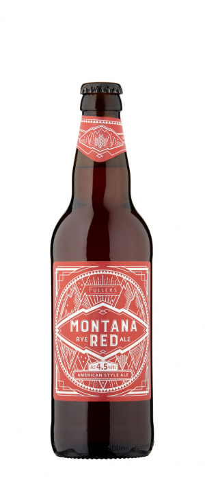 Montana Red by Fuller's Brewery in London - England, United Kingdom