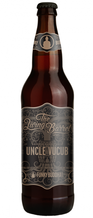 Bourbon Barrel-Aged Uncle Vucub by Funky Buddha Brewery in Florida, United States