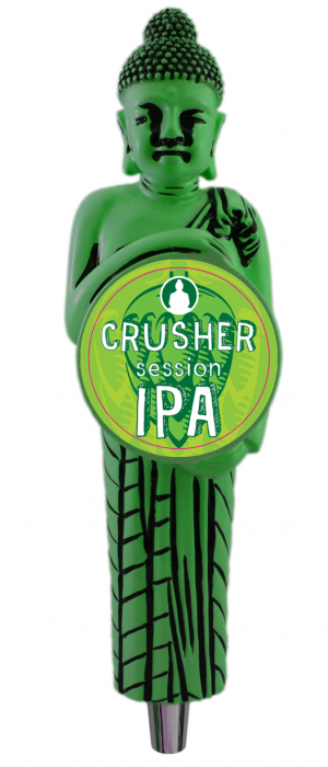 Crusher Session IPA by Funky Buddha Brewery in Florida, United States