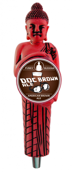 Doc Brown Ale by Funky Buddha Brewery in Florida, United States