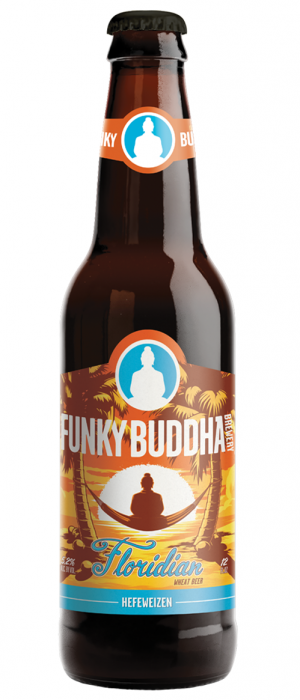 Floridian Hefeweizen by Funky Buddha Brewery in Florida, United States