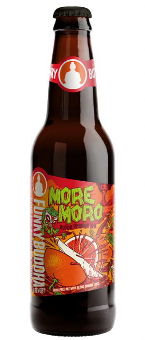 More Moro Blood Orange IPA Vacation by Funky Buddha Brewery in Florida, United States