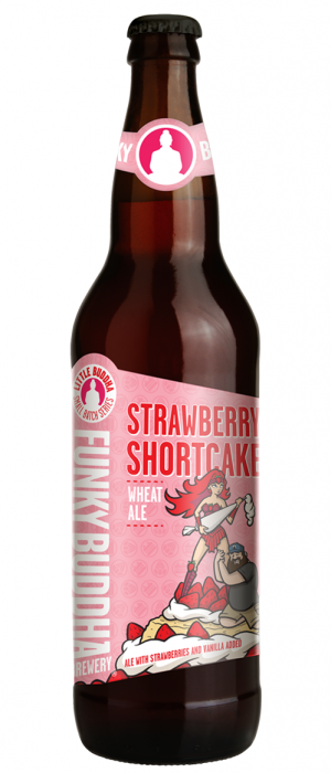 Strawberry Shortcake by Funky Buddha Brewery in Florida, United States